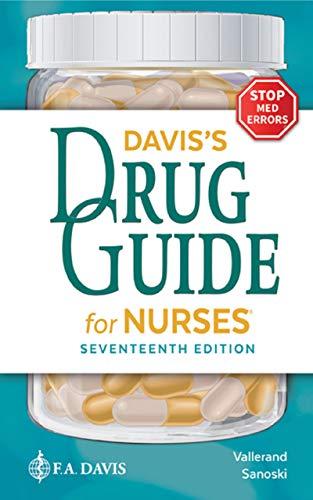 Davis's Drug Guide for Nurses Seventeenth Edition