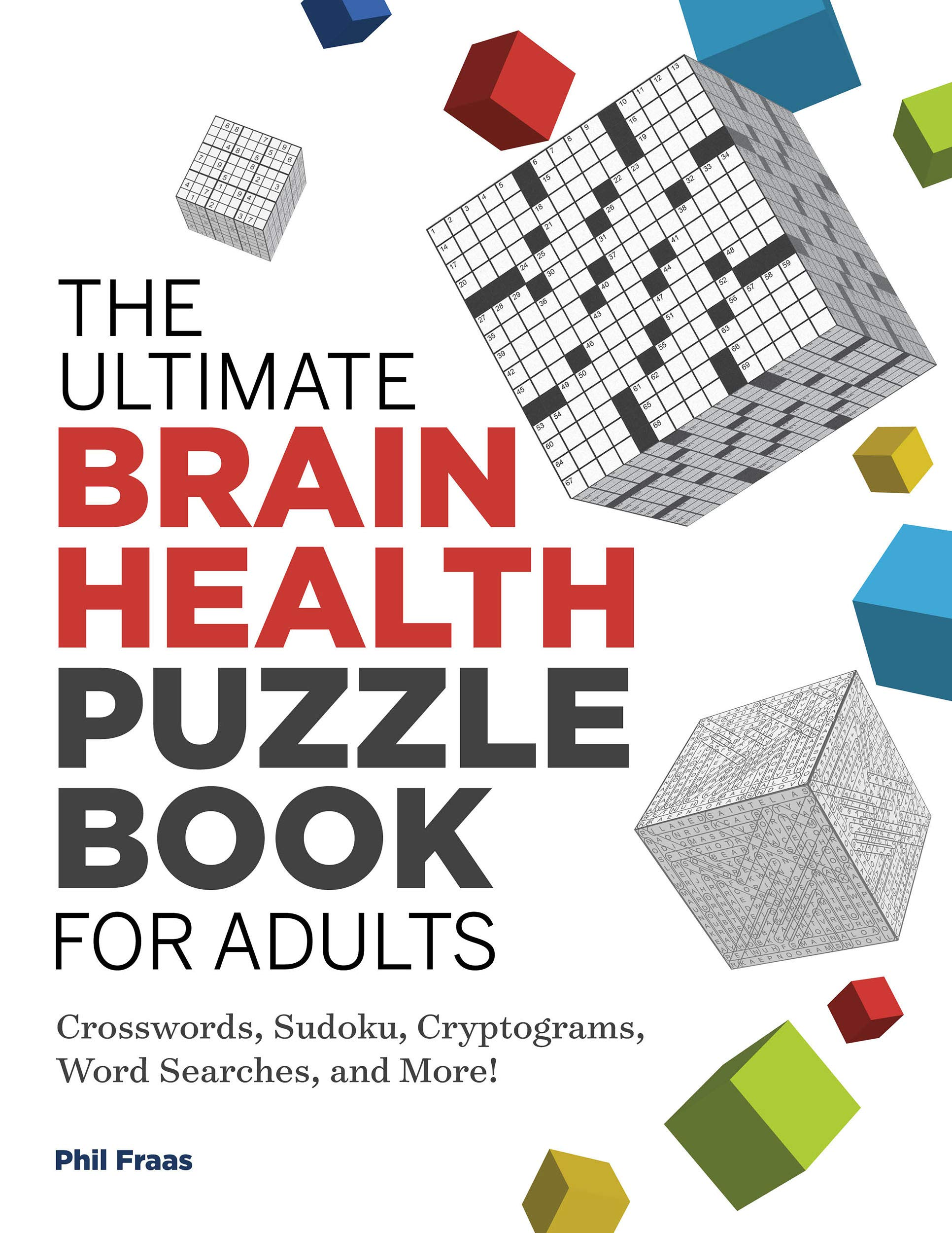 The Ultimate Brain Health Puzzle Book for Adults